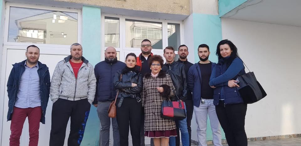 Georgiana le-a mulțumi personal pe facebook studenților slătineni care au donat sânge pentru ea