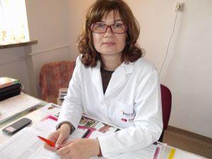 dr. Adelina Ştiucă, şef Secţia Oncologie SJU Slatina, coordonatorul programului oncologic