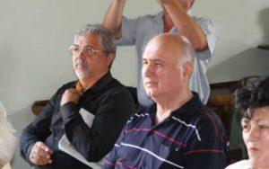 Dumitru Botar (dreapta) alături de Marian Doldurea